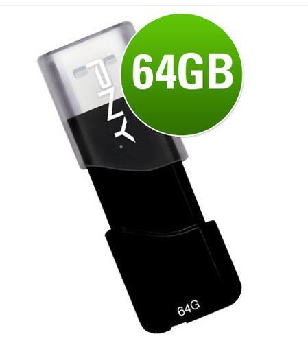 PNY Attache 64GB USB Flash Drive, £19.99 delivered @ eBay / zavvi_outlet