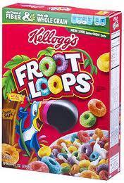 Kelloggs Fruit Loops - £2.69 instore @ Tesco
