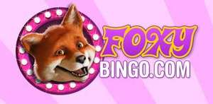 £10 Free Credit when registering with Foxy Bingo - No Deposit Required