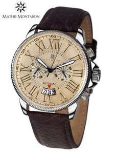 Mathis Montabon Men's Classique Moderne Leather Watch was £1193 now £249 @ secretsales.com