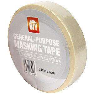 General Purpose Masking Tape (24mm x 45m) Only 59p @ Home Bargains