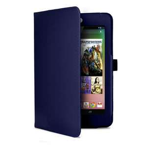 DeepBlue Stand Wallet Leather Case Cover for Google Asus Nexus 7 + Film + Stylus Ebayuk londonmagicstore £9.90 free postage