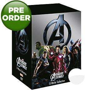 Marvel's The Avengers - 6 Movie Collection - DVD Boxset £9 @ Asda