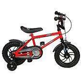 "Urban Racers 12"""" Boys Bike with stabilisers, £14.96 @ Tesco"