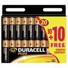 20 x Duracell AA Batteries - £4.99 delivered, plus Quidco