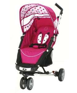 Petite star zia pushchair in pink, purple, blue.  Mothercare untill midnight £95.20