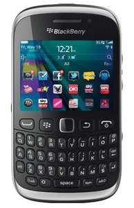 BlackBerry Curve 9320 Black O2 Pay As You Go  £126.89 INC £10 top up Free delivery Dialaphone