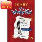 Diary of a wimpy kid books asda direct 3 for £10