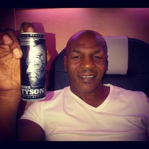 Mike Tyson Black Power Energy Drink 0.33P @ Asda