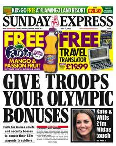Sunday newspaper offers - see post - Express/ Star/ Telegraph/ Mirror/ Mail/ Sun