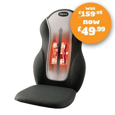 HoMedics QRM-409H Swedish Style Soft Smooth Massager - Black and Grey  @ ebay / homedicsgroupltd