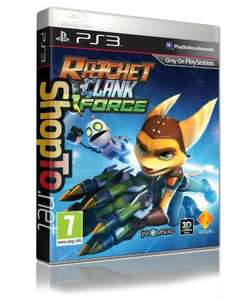 Ratchet and Clank Q Force (PS3) Pre Order for £15.85 @  ShopTo.net