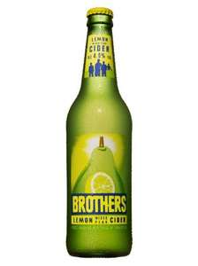 Brothers Lemon Mixed Pear Cider - £1.39 @ ALDI (Limited time only, while stocks last)