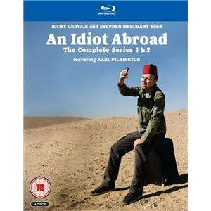 An Idiot Abroad Seaons 1 + 2 Box Set (Blu Ray) £12.29 Delivered from Play.com