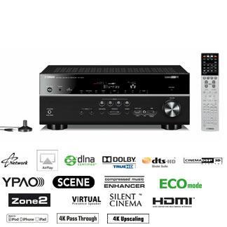 hiway hifi Yamaha RXV673 A/V Receiver £451