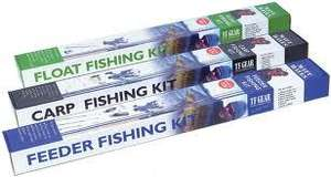 Matt Hayes Fishing Kits £29.99 @ GO OUTDOORS Loughbourgh (SEA, POLE, CARP, FLY AND FEEDER FISHING KITS)