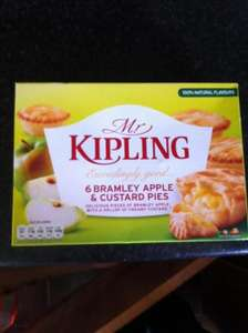 Mr Kipling Apple and Custard pies @ Tesco - £1.49