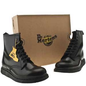 Dr Martens Mens Black Leather Boots £39.99 + £3.99 p&p shuh/ebay size 7to12 in stock