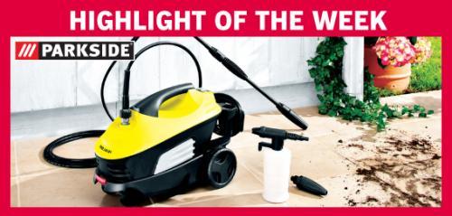 Parkside 100bar 1450watt Pressure Washer £39.99 inc 3 yr warranty @ Lidl