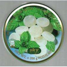 200g tin of Sky Candy Clear Mint Candies for 99p at 99p Stores.