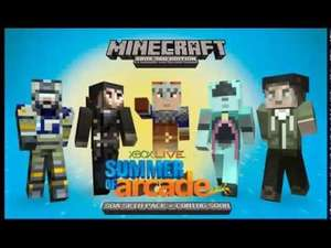 (Summer of Arcade) 15 free skins for Minecraft Xbox 360 now available on xbox dashboard (plus free Trials Evolution tracks)