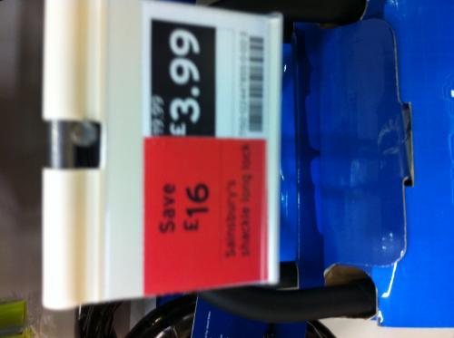 Bike Lock - Sainsburys - £3.99 Normally £19.99