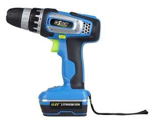 Cotech Cordless Drill/Driver Li-Ion Battery Free Delivery - £29.99 @ ClasOhlson