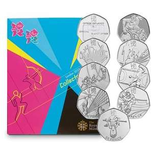 London 2012 (50p coins) Sports Collection excluding delivery charges £2.99 @ Royal Mint