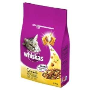2KG Whiskas Dental Protection Plus Dry Adult Cat Food with Chicken - £1.99 @ B&M - Minimum of £4 at big supermarkets