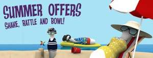 Tenpin 2 games of bowling & food for £6.99?