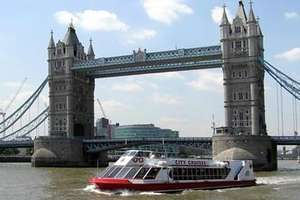 2 for 1 Thames Cruise Sightseeing River Red Rover Ticket @ Virgin Experience £13.50