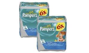 Pampers baby wipes 12x64 £4.89 @ tesco in store