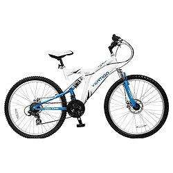 "Vertigo Mont Blanc Dual Suspension Adults 26"" Wheel Mountain Bike - Ladies £90.00 @ tesco direct"