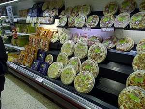 "Morrisons Prepared in Store fresh 14"" pizzas £2"
