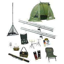 Zebco All-In-One Complete Camper Carp Fishing Set £143.48 with code click and collect @ tesco direct