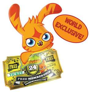 Free 24 hour FULL membership to Moshi Monsters online game site