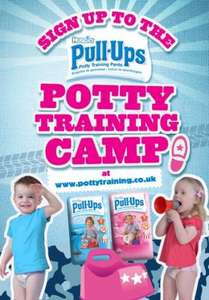 Free Potty Training Pack from Huggies Pull Ups