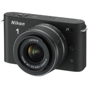 Nikon J1 Camera Black with 10-30mm lens kit - £299.99 (£249.99 after cashback) @ Amazon and Argos