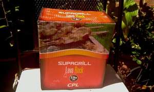 Supagrill Lava Rock 2.5KG for gas barbecues £4 instore @ B&Q
