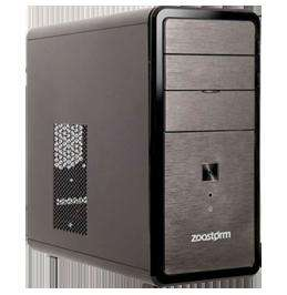 Zoostorm Desktop PC, AMD A4 3300 2.5GHz, 2GB RAM, 320GB HDD, DVDRW, AMD HD6410D for £149.99 Del @ eBay/ ebuyer
