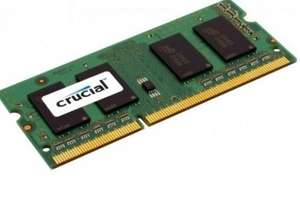 CRUCIAL 4GB DDR3 SDRAM MEMORY MODULE CT51264BC160B £20.92 delivered @ Samsunglaptop