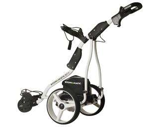 Electric Golf Trolley with 36 holw battery + Quidco @ 8% - White  £199.99 @ The Sports HQ