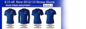 ONLINE & IN STORE - £10 OFF 2012/13 Home Shirt Plus FREE Delivery! @ Rangers Megastore