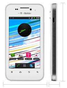 T-Mobile Vivacity White/Black - NOW £49.99 + £10 top up + £10 Quidco
