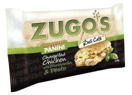 Zugos Paninis half price now £1.10 at morrisons