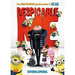 Despicable Me on DVD £3 instore @ Asda