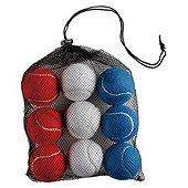 Activequipment GB 12 Tennis Balls In Mesh Bag £1.25 @ TescoDirect