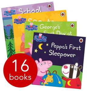 Peppa Pig Tales 16 Book Collection now £13.50 del @ The Book People (using codes JULY2012 & WINDEL)