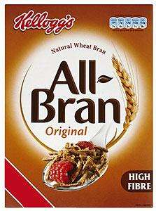 Kellogg's All-Bran (750g) was £2.69 now £1.79 @ Waitrose