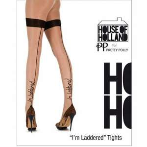 House of Holland & Pretty Polly Tights for £5 & FREE DELIVERY!